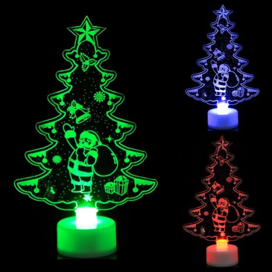 Decoration Christmas Tree LED Light Santa Claus Party Decorative Ornaments pictures & photos