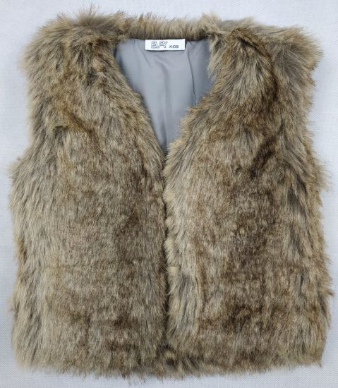Fake Fur Vest for Girl pictures & photos