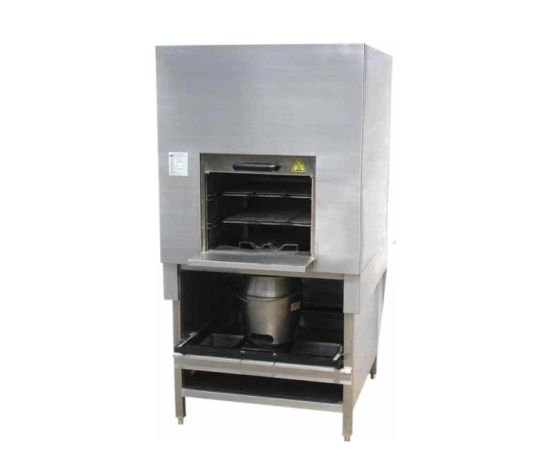 Commercial Kitchen Equipment Stainless Steel Fruitwood Smoke Oven (Small-sized)