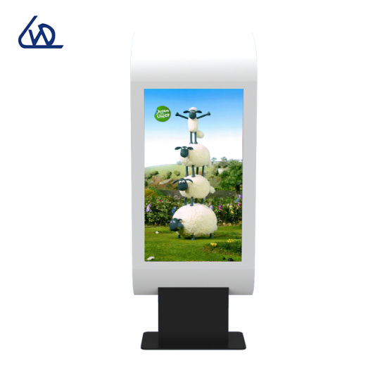 Customized Touch Screen Digital Signage Kiosk Outdoor Waterproof Floor Stand Advertising Display Billboard Panel