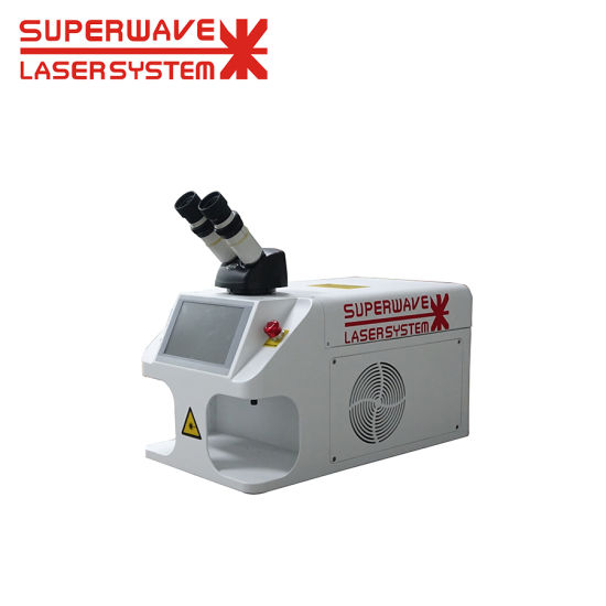 Gold Filled Mini Laser Spot Welder with CCD