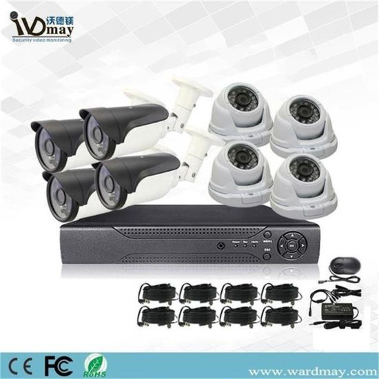 8chs 2.0MP CCTV Analog Camera System DVR Kit pictures & photos