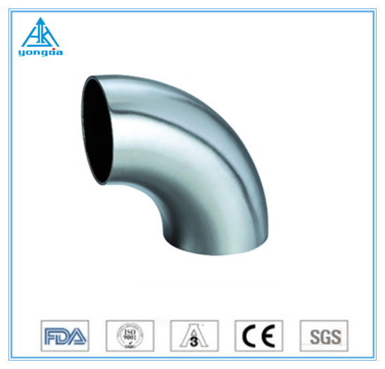 Sanitary Stainless Steel 90 Degree Welding Elbow 304/316L