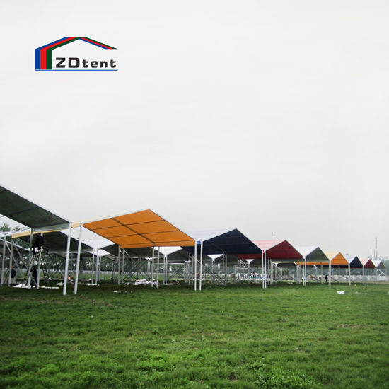 Temporary Sales Promotion Tent Outdoor Waterproof PVC Roof Top Event Tent