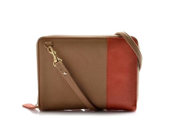 Candy Color Long Strap Zipper Purse for Lady