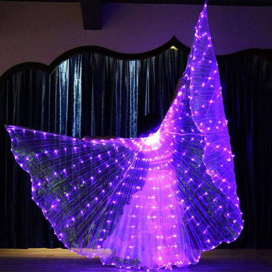 LED Dancing Wing Props Halloween Christmas Party Supplies pictures & photos