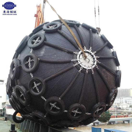3.3*6.5m 3300X6500mm Yokohama Type Ship Floating Pneumatic Rubber Marine Fender