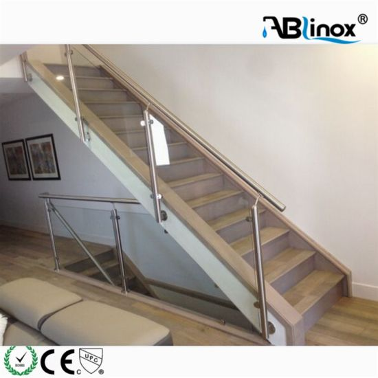Stainless Steel 304 316 Glass Clamp Handrail Fittings Balcony Staircase Glass Railing Manufacturer