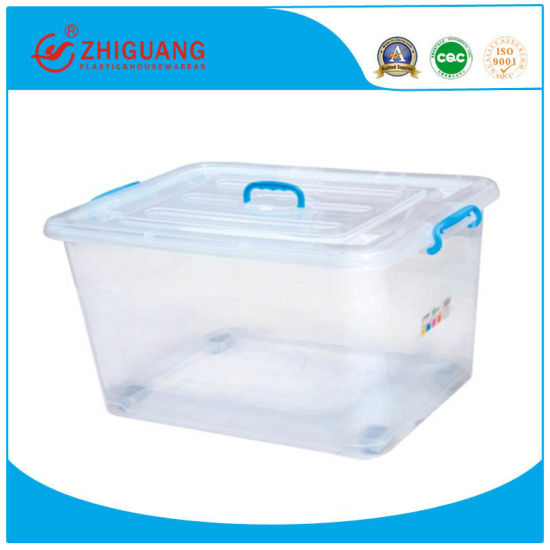 Wholesale Bedroom Plastic Clothes Storage Laundry Boxes with Wheels
