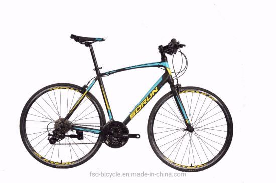 New Hybrid Aluminum Racing Bike Shimano 21speed 700c Road Bike OEM pictures & photos