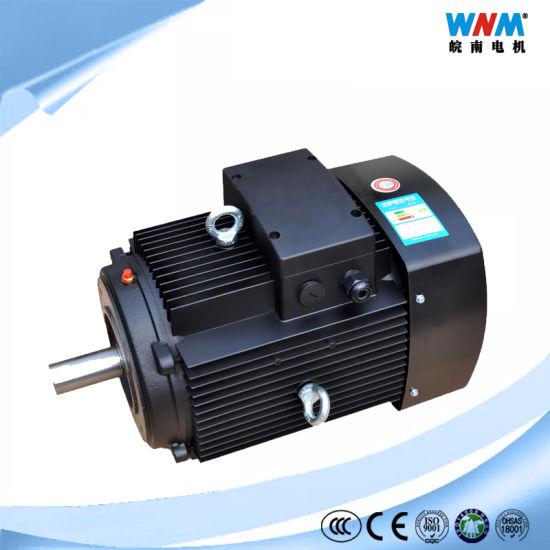 Ie2 Ie3 Y2 0.75kw-630kw Electric Motor High Speed High Efficiency Ye3-132m1-6 4kw 975rpm IP55 F IC411 Tefc