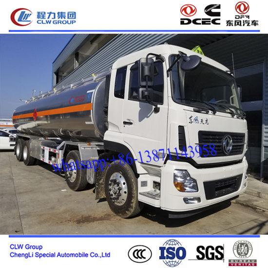30000~40000 Liter Aluminum Oil Tanker Truck, Aluminum Oil Delivery Truck
