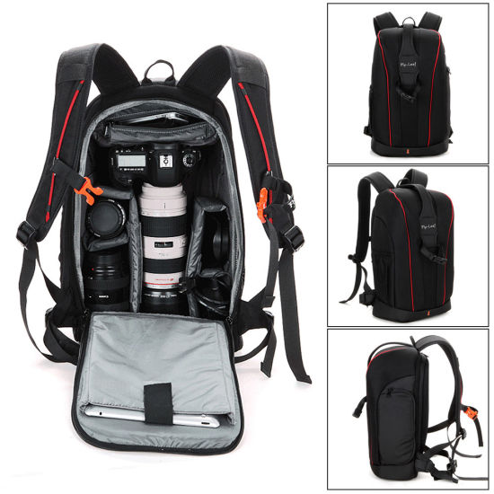 Large Waterproof Traveling Outdoor Backpack DSLR Camera Bag for Canon
