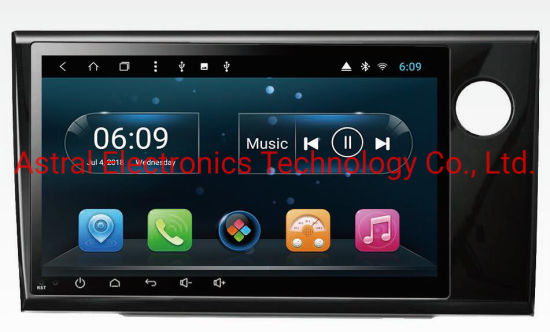9-Inch Honda Brv Android Auto Radio Stereo Multimedia System with GPS Navigation WiFi Bluetooth Steering Control Plug&Play Carplay DSP