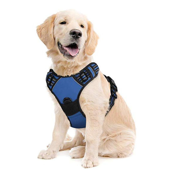 High Quality Adjustable Reflective No Pull Dog Vest Harness for training Walking Running