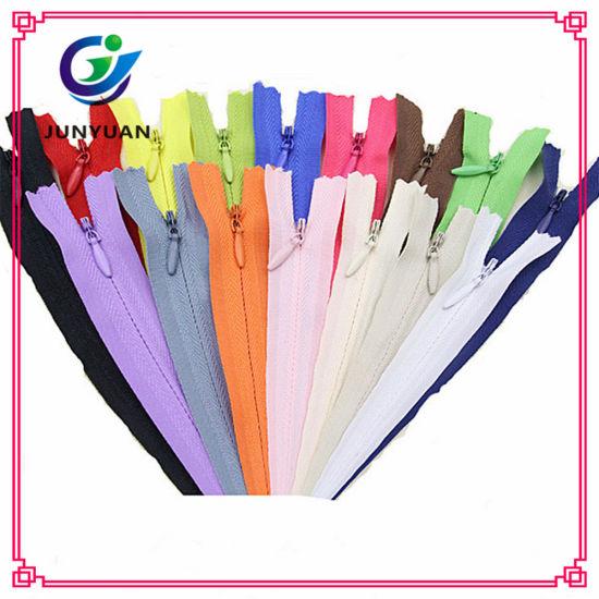 China Heavy Duty Nylon Invisible Zipper Cheap Pants Hidden Zipper