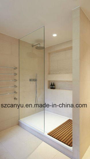 China Free Standing Glass Shower; Simple Shower Room - China ...