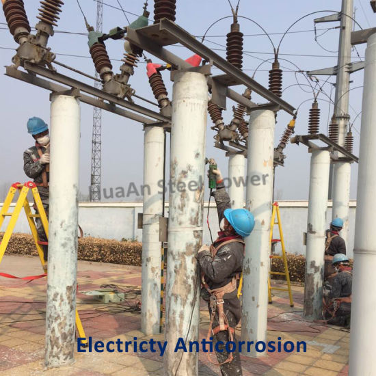 Electricity Facility Preservative Treatment Construction pictures & photos