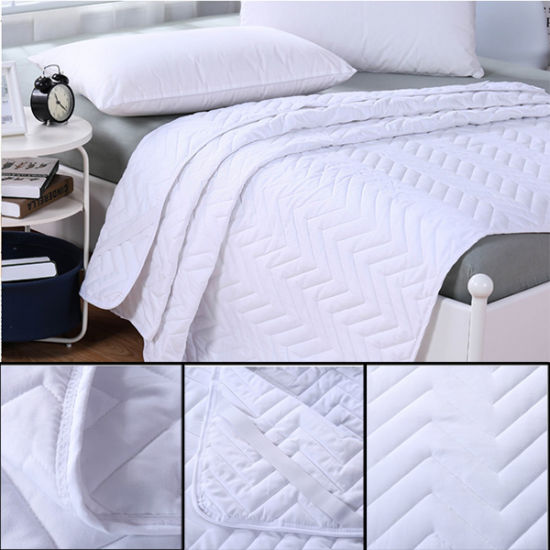 Hotel Microfiber Quilted Thick Mattress Protectors