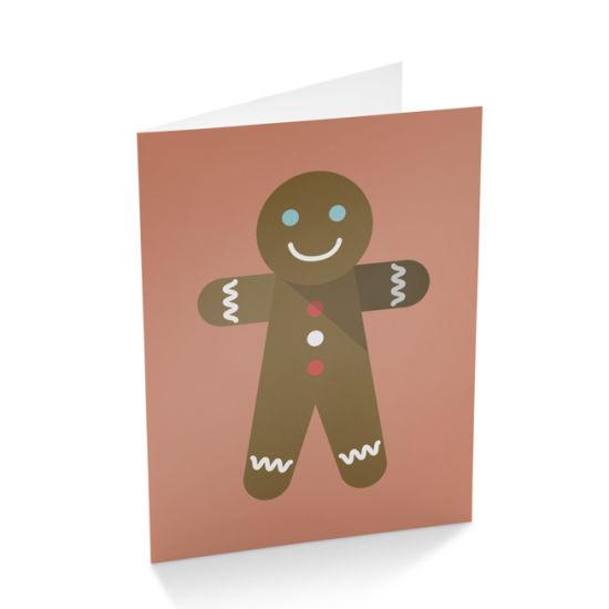 china fancy cartoon customized design paper greeting card printing