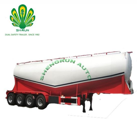 60m3 Cement Bulker/Bulk Cement Tanker Semi Truck Trailer with 3 Axle