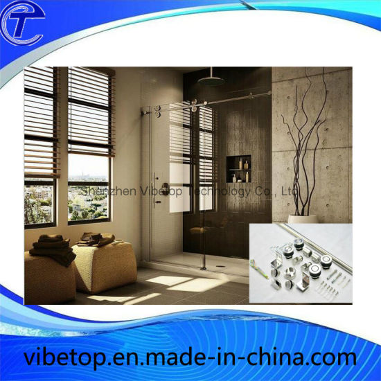 Factory Price Bathroom Sliding Barn Door Hardware (BD-03) pictures & photos