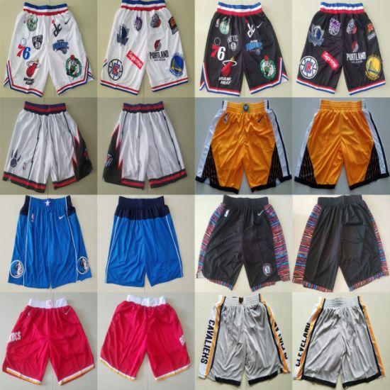 Wholesale Just Don N-B-a Raptors Rockets Nets Supreme Basketball Shorts