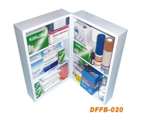 Factory Home Medical Metal First Aid Kit for Emergency
