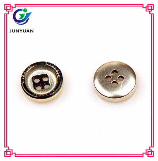 Round Shirt Button 4holes Overcoat Suit Button