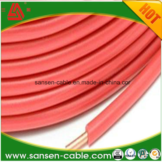 PVC Insulated Copper Conductor Single Core Electrical Wire Building Wire H07V-U H07V-R Copper Cable pictures & photos