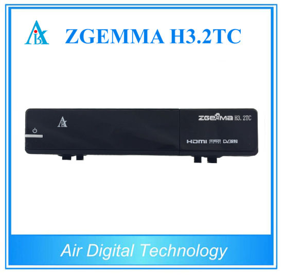 Multistream TV Decoder Zgemma H3.2tc DVB-S2+2X DVB-T2/C Digital TV Satellite Receiver pictures & photos