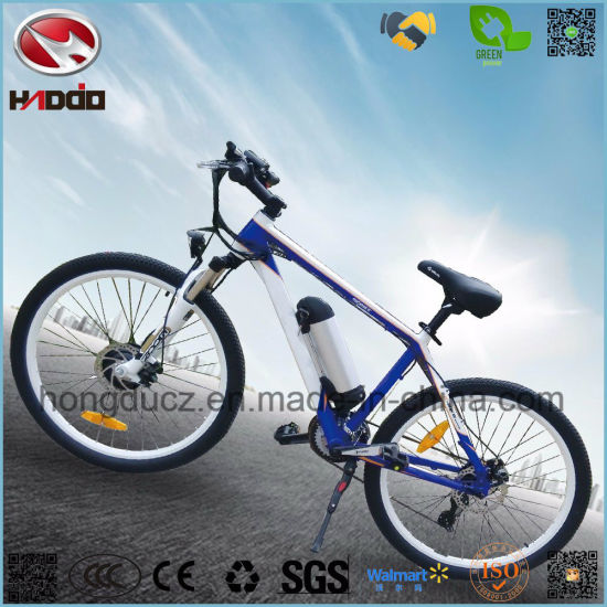 New Front Motor Scooter Electric Mountain Bike with Suspension