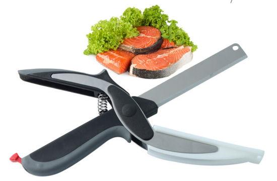 2 in 1 Multifunction Kitchen Clever Cutter&Scissor