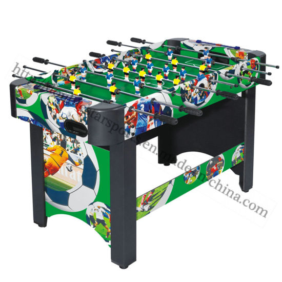 China Strong Wood Football Table Game Soccer Table For Sale China