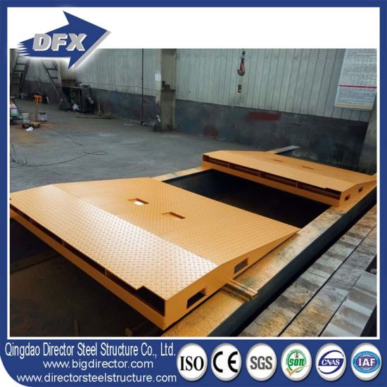 Qingdao Dfx Easy Simple Dock Container Loading Unloading Ramp pictures & photos