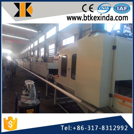 Kxd Color Iron Stone Coated Steel Roofing Tile Production Line pictures & photos