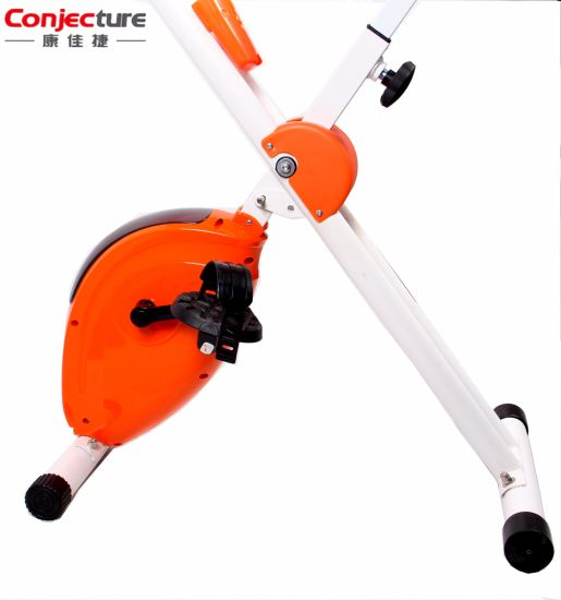 Eight Levels Adjustable Machine Magnetic Cross Fitness Upright Exercise Bike pictures & photos