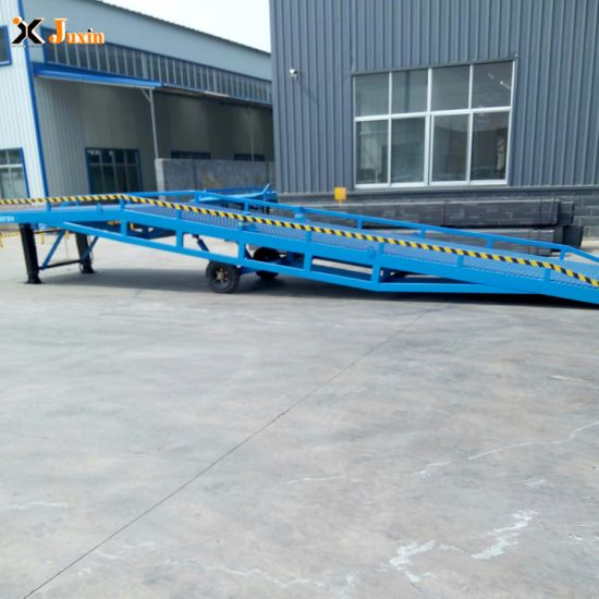 10t Hydraulic Container Loading Dock Ramp