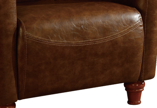 Hot Sell Living Room Sofa Chair Vintage Leather Armchair pictures & photos