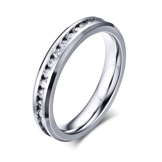 Value Engagement Wholesale Jewelry CZ Wedding 925 Sterling Silver Ring