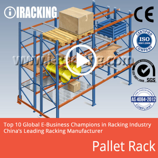 China Heavy Duty Pallet Rack for Industrial Warehouse