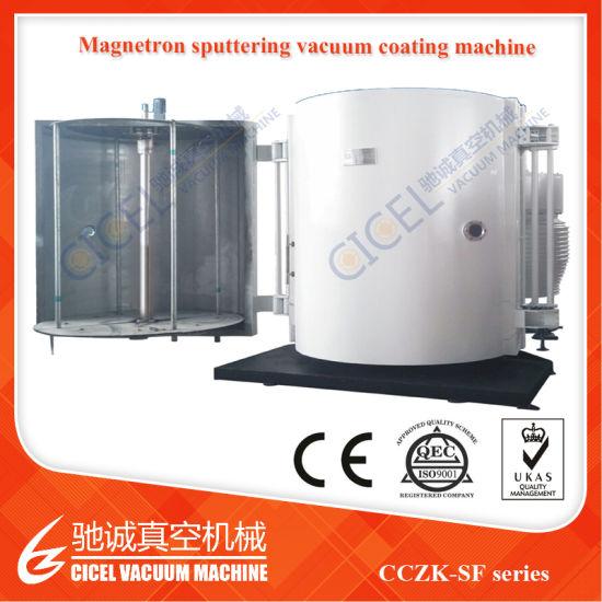 High Quality Vacuum Coating Machine For Plastic Spoon Aluminum Metallizing PVD