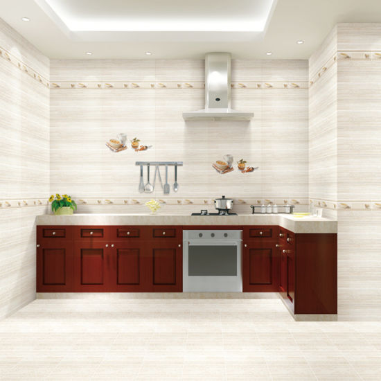 china 300x600mm high glossy kitchen ceramic wall tile 1lp26401