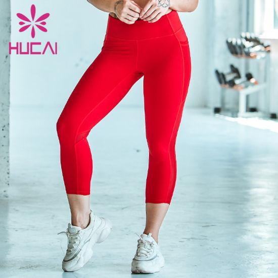 Custom Leggings Women Fitness Yoga Leggings with High Waist