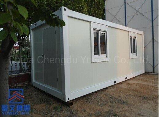China New Design 20FT 6 Meters Container Labour Camp Office