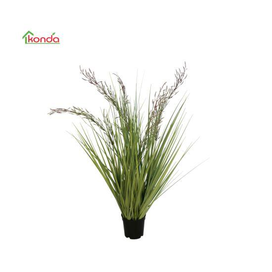 Factory Artificial Plastic Onion Grass Artificial Bonsai Plant for Garden Decor