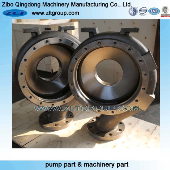 Sand Casting ANSI Goulds 3196 Chemical Process Centrifugal Pump Parts in Stainless/Carbon Steel Pump Casing in CD4/316ss/Titanium Material
