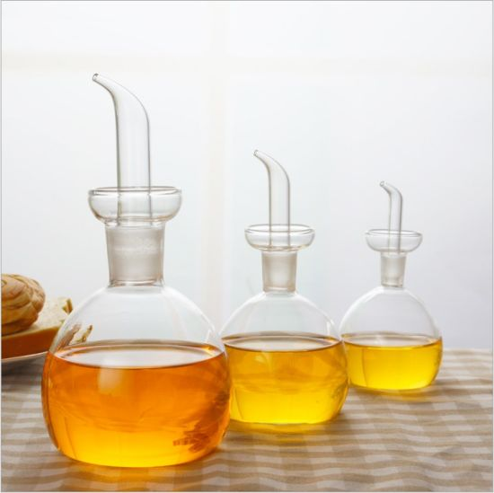 Less Oil Style Glass Bottle with Highe Borosilicate Glass Material