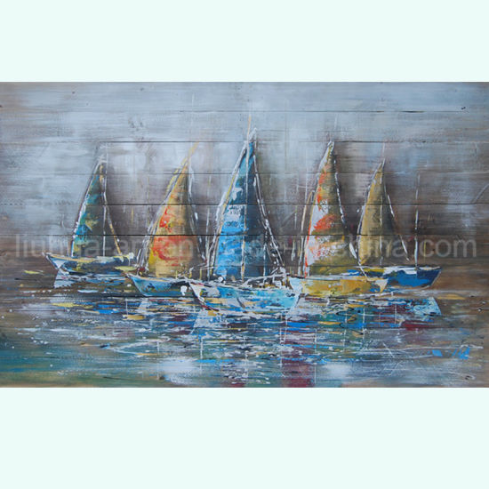Sailing Abstract Canvas Art