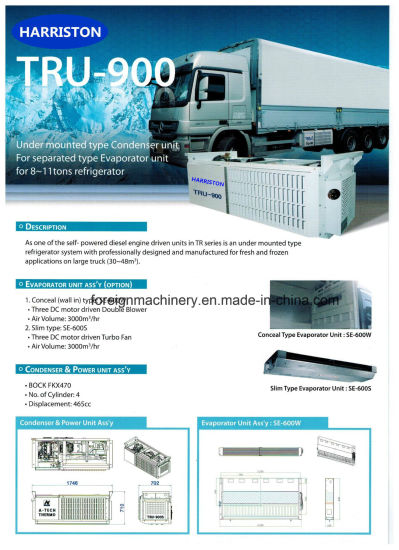 High Quality Refrigeration Unit Tru-900 for Large Storage Volume Type pictures & photos